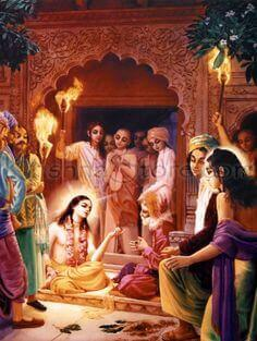 Lord Chaitanya and His Associates
