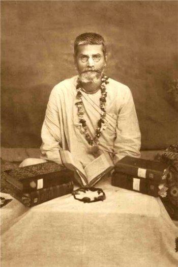 His Divine Grace Srila Bhakti Pragyan Keshav Goswami Maharaj