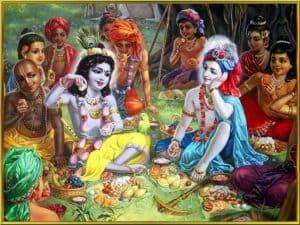 Divine Lord Krishna