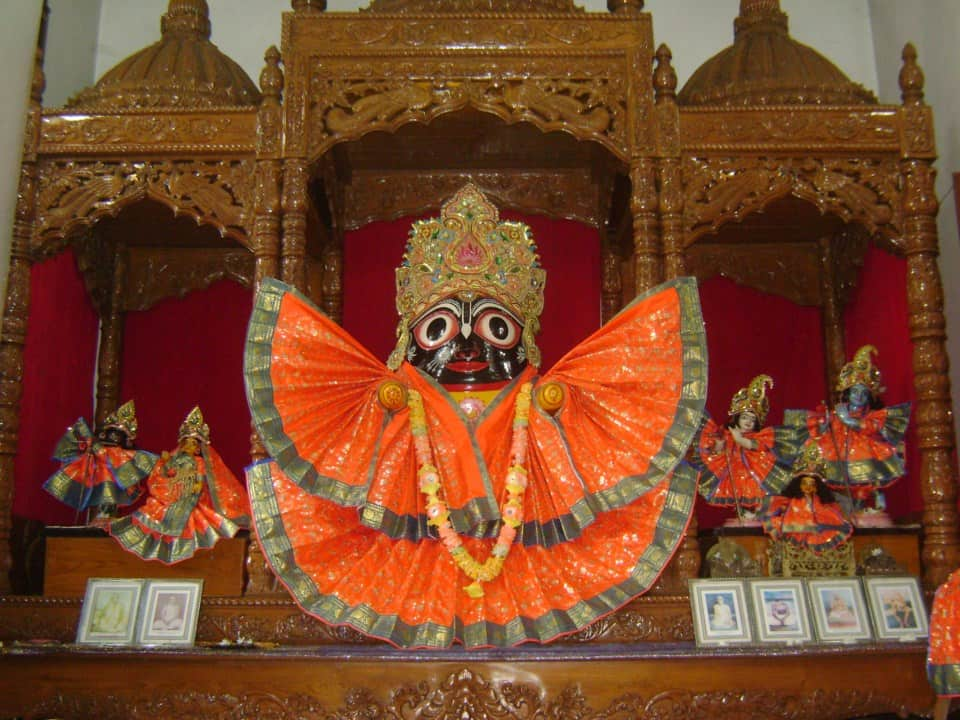Lord Jagannath at Chakadaha in Bengal