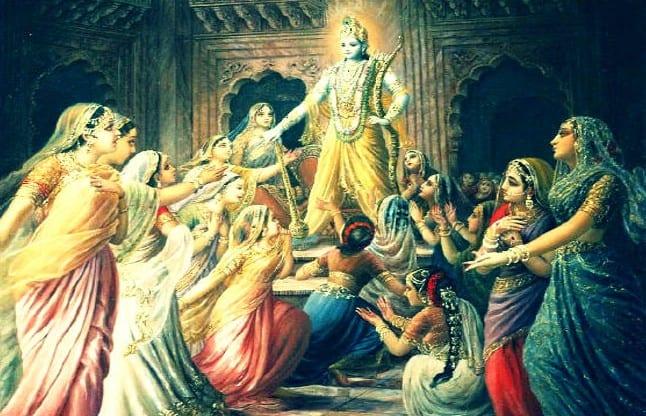 Chir haran pastimes of Sree Krishna
